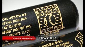 Big Time Bats TV Spot, 'Jeter & Rivera Hall of Fame Two Bat Set' - Thumbnail 2