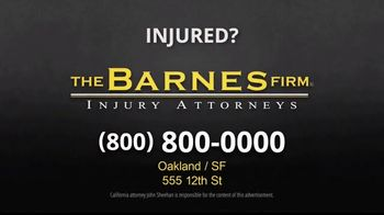 The Barnes Firm TV Spot, 'Distracted Driving' - Thumbnail 6