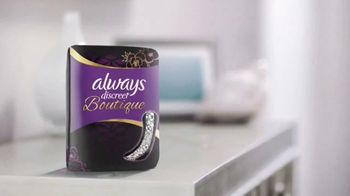 Always Discreet Boutique TV Spot, 'Not Filled the Same' - Thumbnail 4