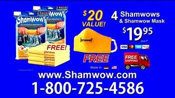 ShamWow TV Spot, 'Four ShamWows Plus a ShamWow Mask' - 907 commercial airings