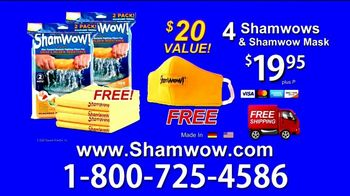 ShamWow TV Spot, 'Four ShamWows Plus a ShamWow Mask'
