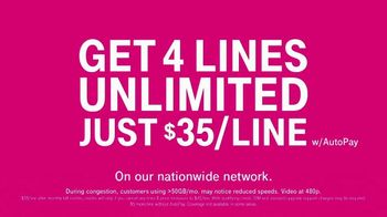 T-Mobile TV Spot, 'Mama: Taxes and Fees: $35 Per Line' Featuring Anthony Anderson - Thumbnail 10