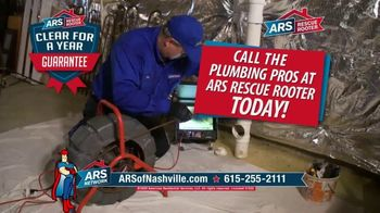 ARS Rescue Rooter TV Spot, 'Annual Drain Cleaning: $68 Cleaning Special' - Thumbnail 4