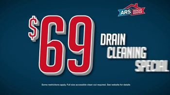 ARS Rescue Rooter TV Spot, 'Annual Drain Cleaning: $68 Cleaning Special' - Thumbnail 5