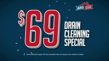ARS Rescue Rooter TV Spot, 'Annual Drain Cleaning: $68 Cleaning Special' - Thumbnail 6