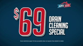 ARS Rescue Rooter TV Spot, 'Annual Drain Cleaning: $68 Cleaning Special' - Thumbnail 7