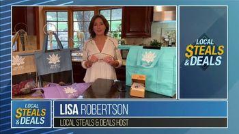 Local Steals & Deals TV Spot, 'Fabulous Ideas: Lotus Trolley Bag' Featuring Lisa Robertson - Thumbnail 1