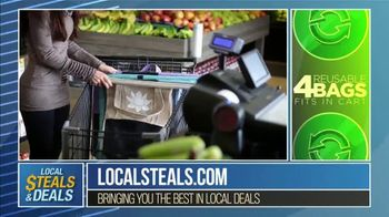 Local Steals & Deals TV Spot, 'Fabulous Ideas: Lotus Trolley Bag' Featuring Lisa Robertson - Thumbnail 4