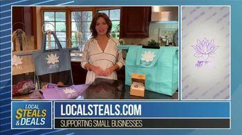 Local Steals & Deals TV Spot, 'Fabulous Ideas: Lotus Trolley Bag' Featuring Lisa Robertson - Thumbnail 6