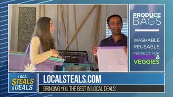 Local Steals & Deals TV Spot, 'Fabulous Ideas: Lotus Trolley Bag' Featuring Lisa Robertson - Thumbnail 7