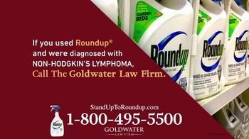 Goldwater Law Firm TV Spot, 'Roundup Linked to Non-Hodgkin's Lymphoma: $8 Billion' - Thumbnail 5