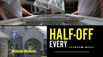 Wallside Windows TV Spot, 'Families: Half Off Windows' - Thumbnail 5