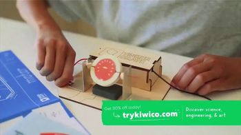 KiwiCo TV Spot, 'Stem Projects: 30% off' - Thumbnail 1