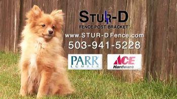 Stur-D Fence Post Brackets TV Spot, 'Fix a Broken Fence' - Thumbnail 5