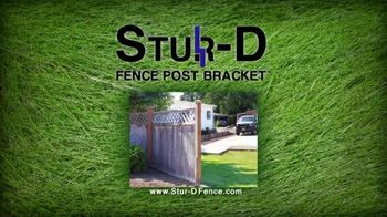 Stur-D Fence Post Brackets TV Spot, 'Fix a Broken Fence' - Thumbnail 1