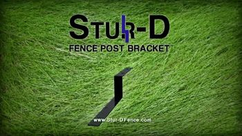 Stur-D Fence Post Brackets TV Spot, 'Fix a Broken Fence' - Thumbnail 2