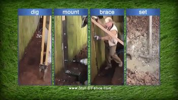 Stur-D Fence Post Brackets TV Spot, 'Fix a Broken Fence' - Thumbnail 4
