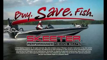 Skeeter Boats Buy, Save, Fish TV Spot, 'ZX190 and ZX250' - Thumbnail 9