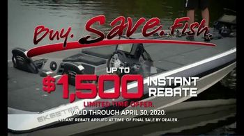 Skeeter Boats Buy, Save, Fish TV Spot, 'ZX190 and ZX250' - Thumbnail 3