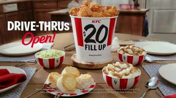 KFC $20 Fill Up TV Spot, 'Homestyle Cookin' Without the Cookin'' - Thumbnail 9