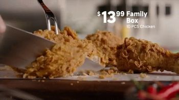 Popeyes Family Box TV Spot, 'Proud To Care For Yours' - Thumbnail 5