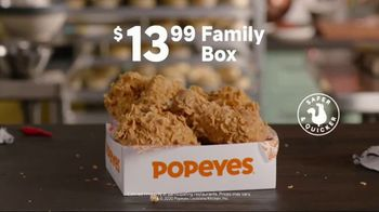 Popeyes Family Box TV Spot, 'Proud To Care For Yours' - Thumbnail 7