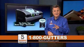 Beldon LeafGuard Spring Blowout Sale TV Spot, 'Keep Your Gutters Clean' - Thumbnail 1