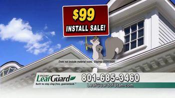 LeafGuard of Utah $99 Install Sale TV Spot, 'Fascia Board' - Thumbnail 3