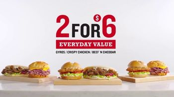 Arby's 2 for $6 Everyday Value Menu TV Spot, 'All Other Days' Song by YOGI