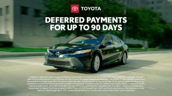 Toyota TV Spot, 'Here to Help: On the Road: 90 Day Deferment' [T1] - Thumbnail 4