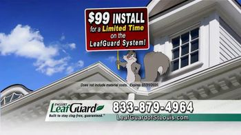 LeafGuard of St. Louis $99 Install Sale TV Spot, '8 Out of 10 Things' - Thumbnail 6