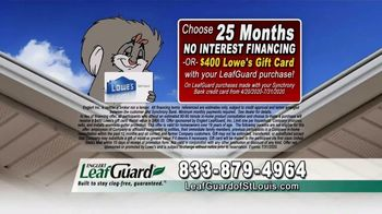 LeafGuard of St. Louis $99 Install Sale TV Spot, '8 Out of 10 Things' - Thumbnail 7