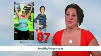 HealthyWage TV Spot, 'The Bigger the Goal, the Bigger the Prize'