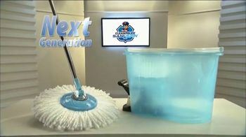 Clean Police Sani-Spin TV Spot, 'The Next Generation Mop' - Thumbnail 2