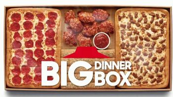 Pizza Hut Big Dinner Box TV Spot, 'Safety Sticker'