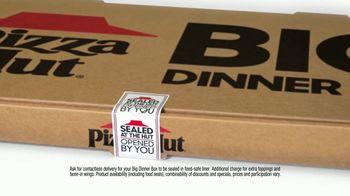Pizza Hut Big Dinner Box TV Spot, 'Safety Sticker' - Thumbnail 5