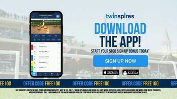 Twin Spires TV Spot, 'Thrill of Winning: $100 Sign Up Bonus'