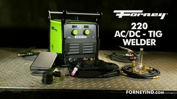 Forney Industries 220 AC/DC TIG Welder TV Spot, 'The Perfect Weld'
