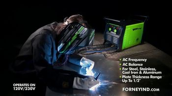 Forney Industries 220 AC/DC TIG Welder TV Spot, 'The Perfect Weld' - Thumbnail 3