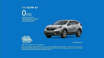 Honda Dream Garage Spring Event TV Spot, 'CR-V and HR-V' Song by Danger Twins [T2] - Thumbnail 8