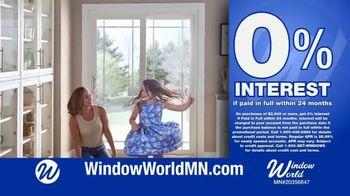 Window World TV Spot, 'White Patio Door and Windows' - Thumbnail 8
