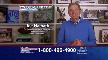 Medicare Coverage Helpline TV Spot, 'Staying Home: New Benefits' Featuring Joe Namath - Thumbnail 1