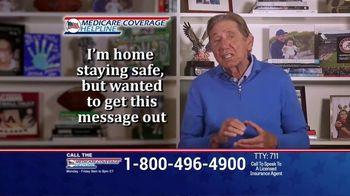 Medicare Coverage Helpline TV Spot, \'Staying Home: New Benefits\' Featuring Joe Namath