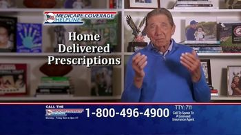 Medicare Coverage Helpline TV Spot, 'Staying Home: New Benefits' Featuring Joe Namath - Thumbnail 4