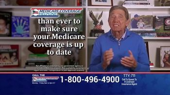 Medicare Coverage Helpline TV Spot, 'Staying Home: New Benefits' Featuring Joe Namath - Thumbnail 7