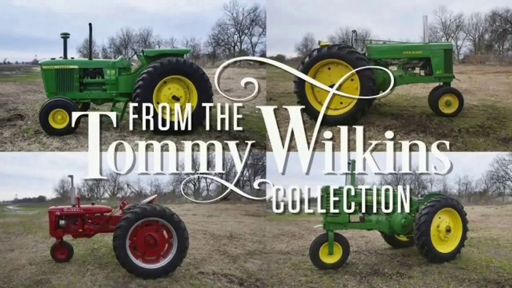 Mecum Gone Farmin' 2020 Spring Classic TV Commercial, 'Tommy Wilkins Collection'