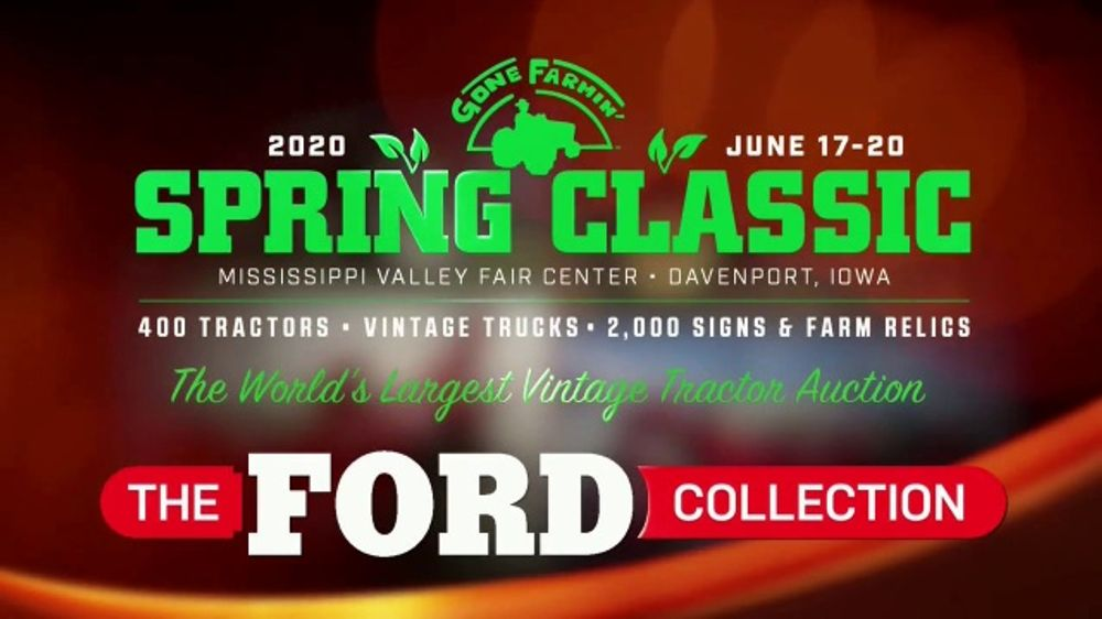 Mecum Gone Farmin' 2020 Spring Classic TV Commercial, 'The Ford Collection'