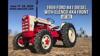 Mecum Gone Farmin' 2020 Spring Classic TV Spot, 'The Ford Collection' - Thumbnail 3