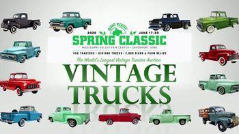 Mecum Gone Farmin' 2020 Spring Classic TV Spot, 'Vintage Trucks' - Thumbnail 4