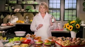Postmates TV Spot, 'How to Make a Burger: Free Delivery' Featuring Martha Stewart - Thumbnail 4